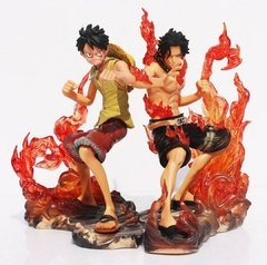 Action Figure - Luffy vs Ace - One Piece