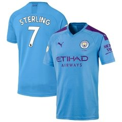 RAHEEM STERLING - CAMISA MANCHESTER CITY HOME 19/20