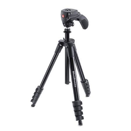 TRIPE MANFROTTO COMPACT ACTION BLACK
