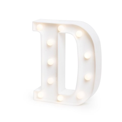 "LETRA LUMINOSA LED 3D ""D"""