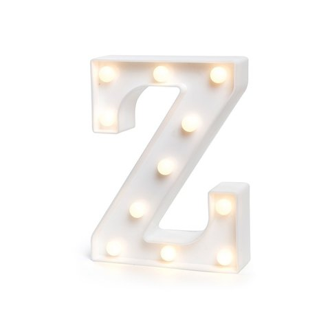 "LETRA LUMINOSA LED 3D ""Z"""
