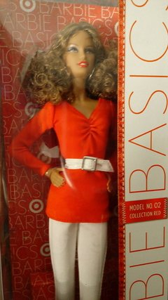 Barbie Model 02 Collection RED na internet
