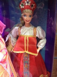 Barbie Russian Dolls of The World - comprar online
