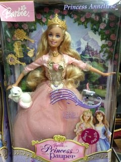 Barbie Anneliese The Princess & the Pauper na internet