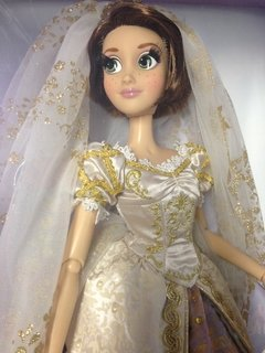 Rapunzel Wedding Disney Limited doll na internet