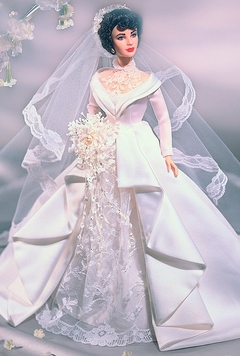 Elizabeth Taylor in Father of the Bride Barbie doll