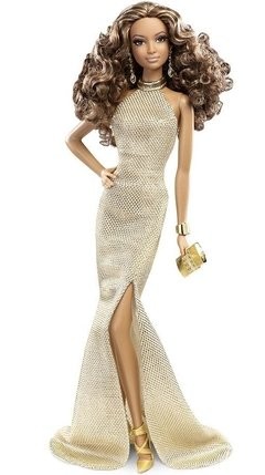 BARBIE - RED CARPET GOLD GOWN