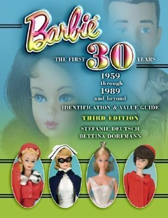 Barbie the First 30 years Book- Hardcover