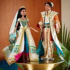 Jasmine e Aladdin Limited Edition Live Action Film dolls