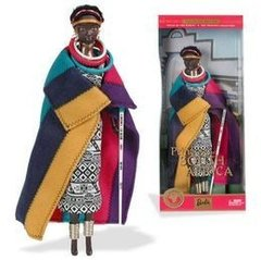 Princess of The South Africa Barbie Doll - comprar online