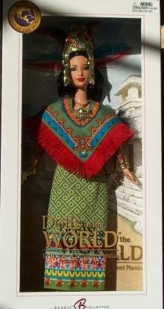 Princess of Ancient Mexico Barbie Doll - Michigan Dolls
