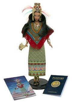 Princess of Ancient Mexico Barbie Doll na internet
