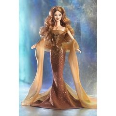 November Topaz Barbie doll