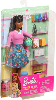 Barbie Teacher/Professora Playset Negra 2020 - Career doll na internet