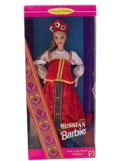 Barbie Russian Dolls of The World na internet
