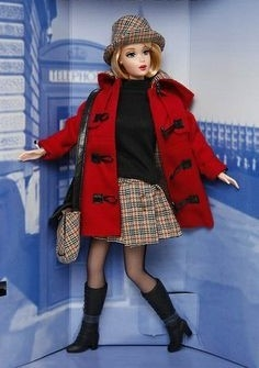 Burberry Blue Label Barbie doll - comprar online