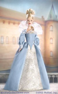 Princess of Danish Court Barbie Doll