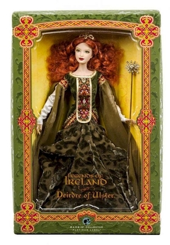 Deirdre of Ulster Barbie doll - comprar online