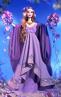 Goddess of Spring Barbie doll - comprar online
