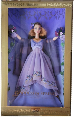 Goddess of Spring Barbie doll