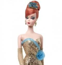 HAPPY NEW YEAR - BARBIE DOLL - Holiday Hostess - comprar online