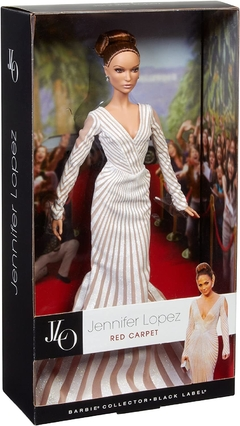 Jennifer Lopez Red Carpet doll - Michigan Dolls