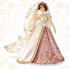 Rapunzel Wedding Disney Limited doll - loja online
