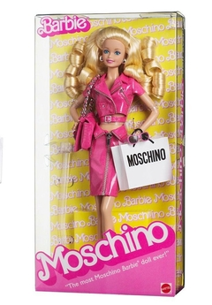 Moschino The Met Barbie doll