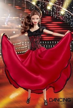 Dancing with Stars Paso Doble Barbie doll