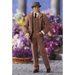 Ken doll as Professor Henry Higgins from My Fair Lady