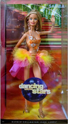Dancing with Stars Samba Barbie doll - Michigan Dolls