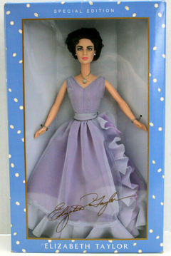 The Elizabeth Taylor White Diamonds Barbie doll - comprar online