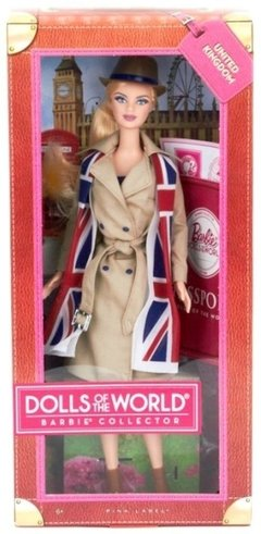 United Kingdom Barbie Doll na internet