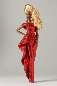 Red Realness The RUPAUL Doll