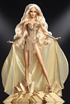 The Blonds Blond Gold Barbie doll
