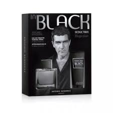 SEDUCTION IN BLACK edt x100+deo