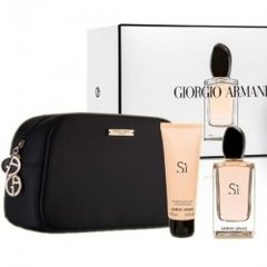 SI GIORGIO ARMANI edp x100+body x75+bag