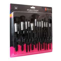 Kit KP9-1A with 12 brushes for Macrilan makeup