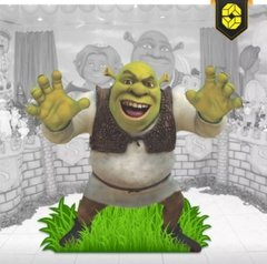 Display Totem Decorativo Shrek Estrutura Festas