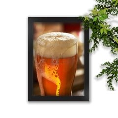 Quadro Decorativo Beer A4