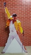 Display Totem Personagens Freddie Mercury Estrutura Festas
