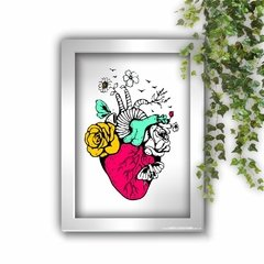 Imagem do Quadro Decorativo Happy Heart Anatomy