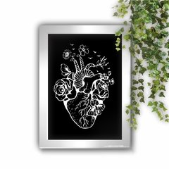 Quadro Decorativo Happy Heart Anatomy - comprar online