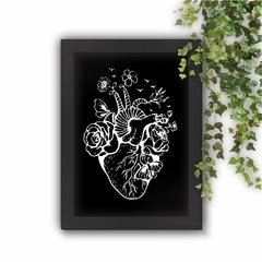 Quadro Decorativo Happy Heart Anatomy