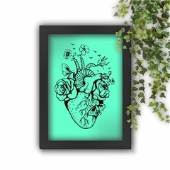 Quadro Decorativo Happy Heart Anatomy na internet