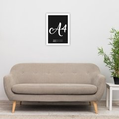Quadro Decorativo Friends Chandler I Make Jokes - Grupo Estrutura Ideias Criativas