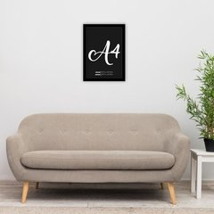 Quadro Decorativo Amora na internet