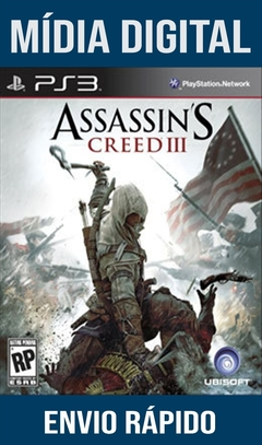 Assassins Creed III 3 Ps3 Psn Mídia Digital