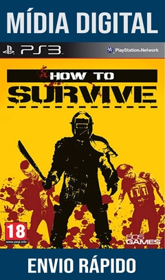 How To Survive Ps3 Psn Mídia Digital