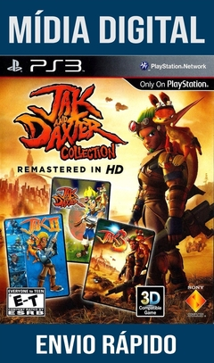 Jak And Daxter Collection Ps3 Psn Mídia Digital